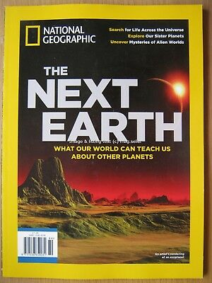 National Geographic The Next Earth Life Across The Universe Sister Planets