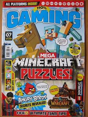 110% Gaming issue 07 1st April 2015 Minecraft Puzzles Angry Birds FIFA 15 Apps