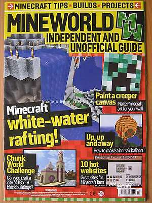 Mineworld Minecraft magazine issue 10 Art Websites Chunk World Tips Builds