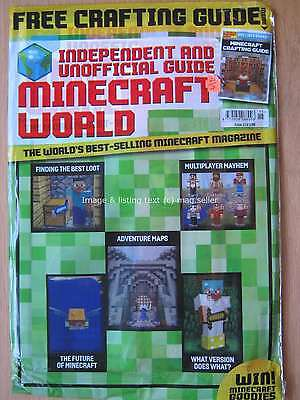 Minecraft World magazine issue 15 Adventure maps Crafting guide Best Loot