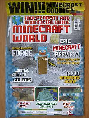 Minecraft World Issue 6 Starting with Forge Golems Exploring Caves