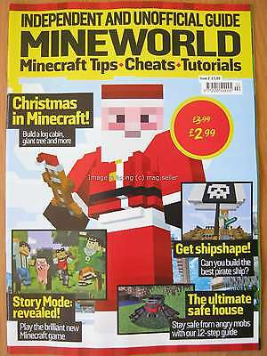 Mineworld Issue 2 Minecraft magazine Tips Cheats Tutorials Pirate Ship Story