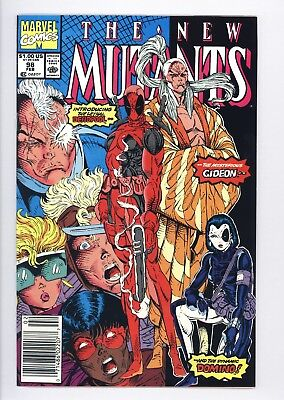 New Mutants #98 Vol 1 PERFECT High Grade 1st Appearance of Deadpool