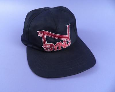 N SYNC Official Licensed Adjustable Embroidered Baseball Cap - Unused Stock