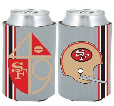 Indianapolis Colts 2-PACK CAN Retro THROWBACK Koozie Neoprene Holder Cooler Coolie Football