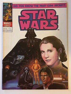 Star Wars Weekly Monthly #161 Rare VFN