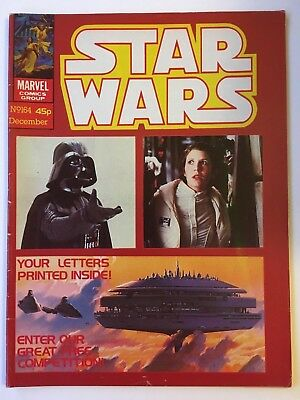 Star Wars Weekly Monthly #164 Rare FN