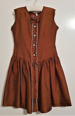 VINTAGE 1950's GIRL'S / TEENS DRESS 'DEBUT LONDON' ~ COLLECTOR, PHOTOS, COSTUME