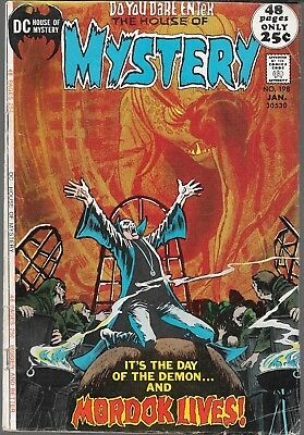 The House Of Mystery #198 (Gd) Bronze Age Dc Horror