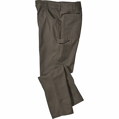Gravel Gear Ripstop Carpenter Pant with Teflon - Moss, 40in Waist x 34in Inseam