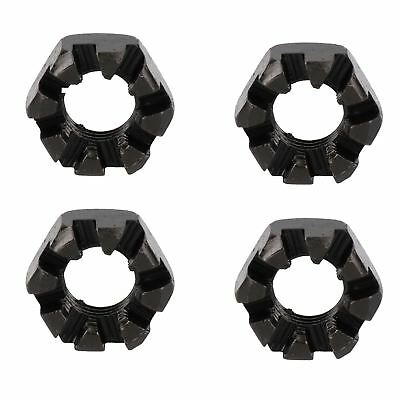 "3/4"" BSF Slotted Castle Nut Trailer Wheel Hubs Castellated Hub Bearing 4 Pack"