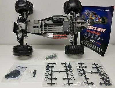 Traxxas Rustler 2WD Off Road Stadium Truck rolling Chassis No Electrics OZRC