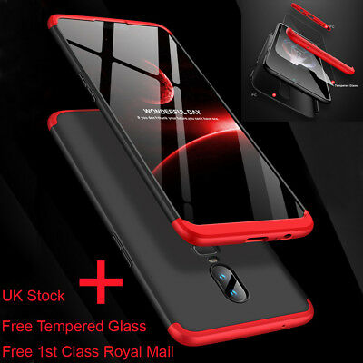 360° Full Cover Protective Hybrid Hard Case Shockproof Slim For Oneplus 6 6T
