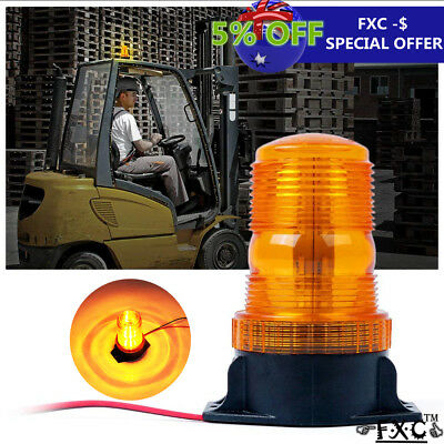 Amber 30 Led Beacon Strobe Light Emergency Flashing Warning Truck Lamp