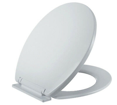Universal Soft Closing Toilet Seat White WC  Slow Close Easy Clean Quick to Fit