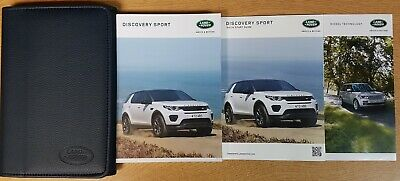 Land Rover Discovery Sport Handbook Owners Manual Wallet 2015-2019 Pack K-346