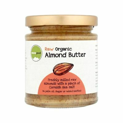Wholegood Organic Raw Almond Butter 170g - Pack of 4