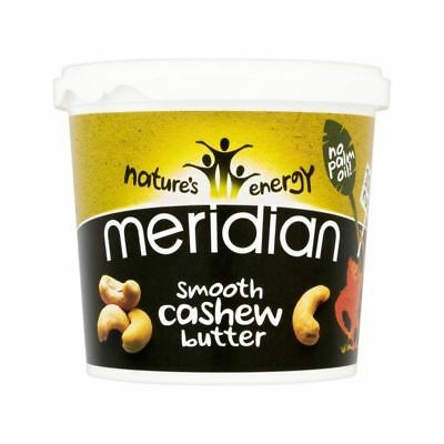 Meridian Smooth Cashew Butter 1kg - Pack of 4