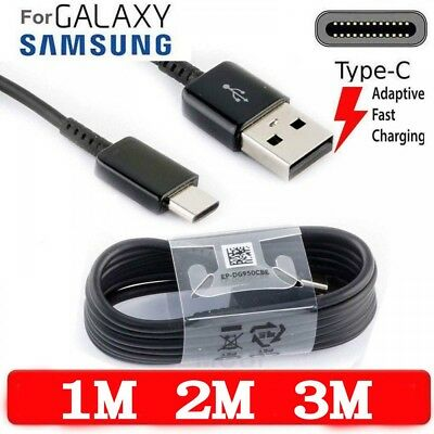 Fast Charger USB Data Cable For Samsung Galaxy S8, S9, Plus, Note 8, A8 2018 A5