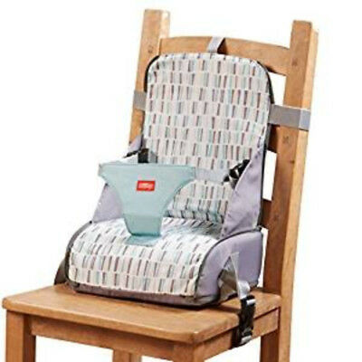 Nuby Home & Travel Baby Toddler Feeding Booster Seat Storage Bag Safety Harness