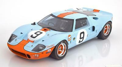 1:18 Spark Ford GT40 MK1 Winner Le Mans Rodriguez/Bianchi 1968 Gulf