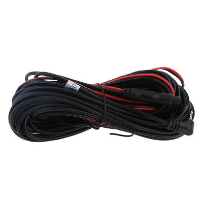 New 10M/32Ft Car Rear Bakup Camera Dash RCA 4 Pin to 2.5mm Extension Cable