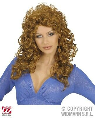 Attractive Wig for 80s Ladies Perm Fancy Dress Accessory