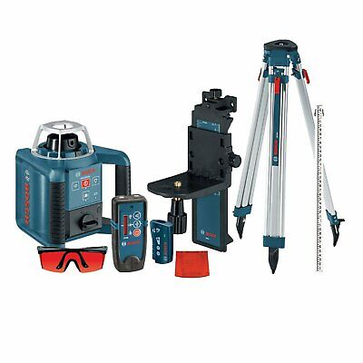 Bosch GRL300HVCK 90-Degree Self-Leveling Rotary Laser Receiver/Remote/Tripod Kit