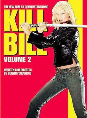 Kill Bill Vol. 2 (DVD, 2004, Anamorphic Widescreen) NEW