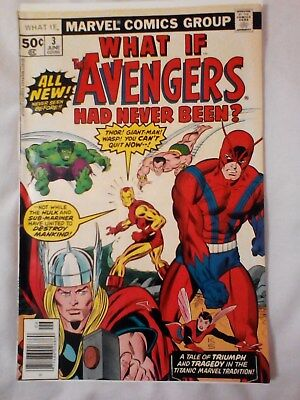 What If 3 (1977)  the Avengers had never been ?
