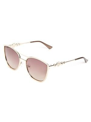 ac32715555a90 NEW GUESS WOMEN S Sunglasses Gu7195-Gld-34 With Carrying Case ...