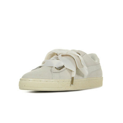CHAUSSURES BASKETS PUMA femme Suede Heart Satin Wn's taille