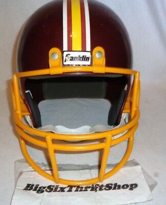 Top WASHINGTON REDSKINS FRANKLIN Replica NFL Football Helmet Youth Kids  for cheap
