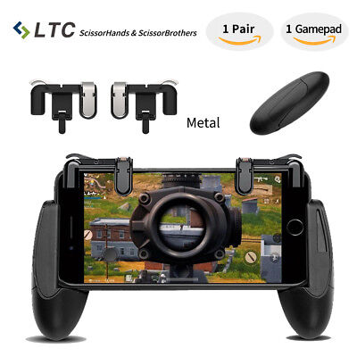 """ScissorHands"" Trigger M2 for Mobile Game Joystick L1R1 PUBG Sensitive Shoot Aim"
