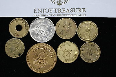 Uk + World Tokens Lot A64 T45