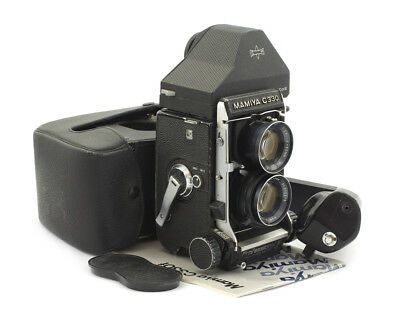Mamiya C330 F Professional TLR Camera #D102657 w/ Sekor 80 mm