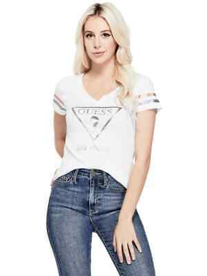 63dd7341 GUESS FACTORY WOMEN'S Lonnie Love Graphic Tee - $11.49 | PicClick