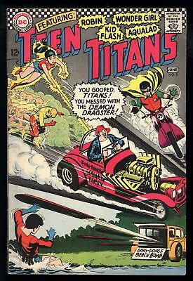 Teen Titans (1966) #3 1st Print Ding Dong's Demon Dragster Nick Cardy C/A VG/FN