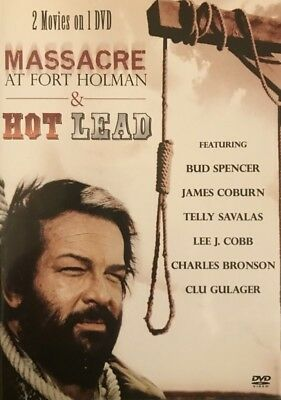 Massacre at Fort Holman & Hot Lead DVD Double Feature NEW