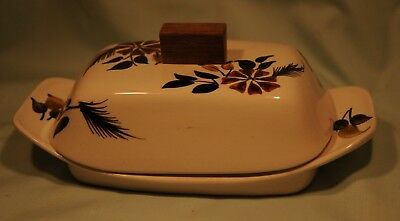 Toni Raymond, Babbacombe Pottery Butter dish 60s-70s Good condition