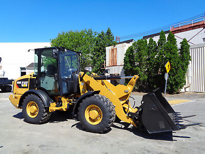 New 2018 Caterpillar 906M Wheel Loader Cat Front End Loader Bucket and Forks