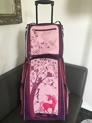 At Jako O At Schrank Trolley Trolley Kinderkoffer Tasche At Einhorn Violett At Top