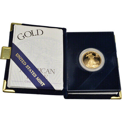 2000-W American Gold Eagle Proof 1/2 oz $25 in OGP