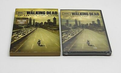 The Walking Dead Complete First Season DVD NEW SEALED FAST FREE SHIP AMC 1 1st
