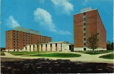 dr jim stamps us purdue university mens dorm lafayette indiana postcard