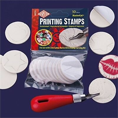 Essdee Self-adhesive Mastercut Printing Stamps (for Use With Lino Cutter And -