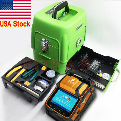 AI-8 SM&MM FTTH Fiber Optic Welding Splicing Machine Fiber Fusion Splicer Kits
