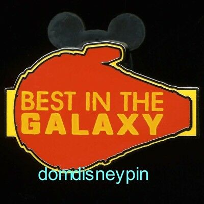 Disney Pin Parks *Star Wars* SOLO Set - Best In The Galaxy (Millennium Falcon)!