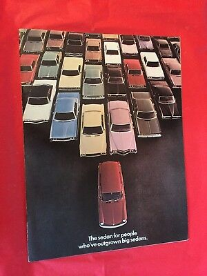 "p. 1970 Volkswagen ""Squareback"" Car Dealer Sales Brochure"