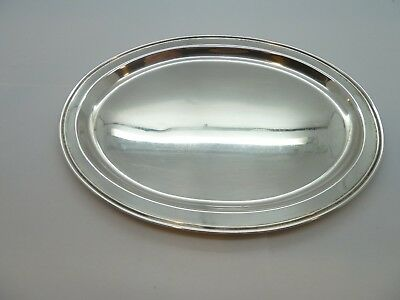 "Fisher Sterling Silver #2202 OVAL 8-1/2"" TRAY 130.5g"